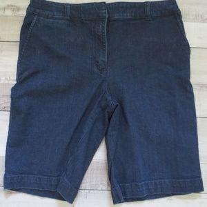 Talbot's Heritage Denim Shorts, Size 12